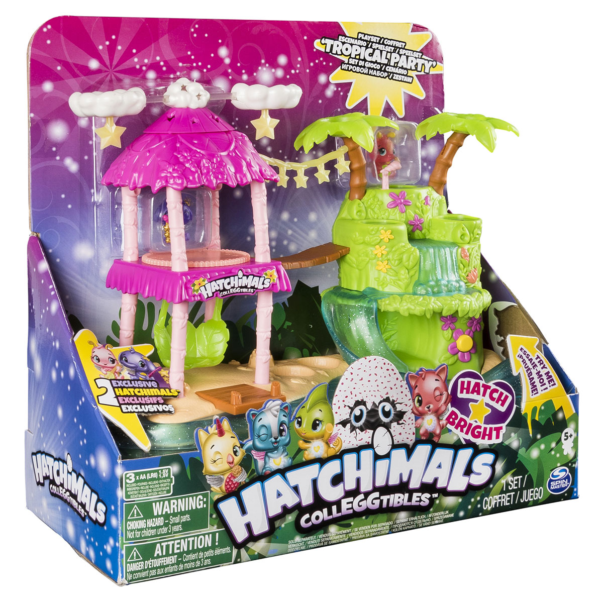Image of   Hatchimals Colleggtibles legesæt - Tropical party