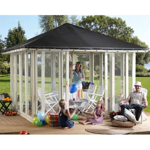 Havepavillon - 10,8 m²
