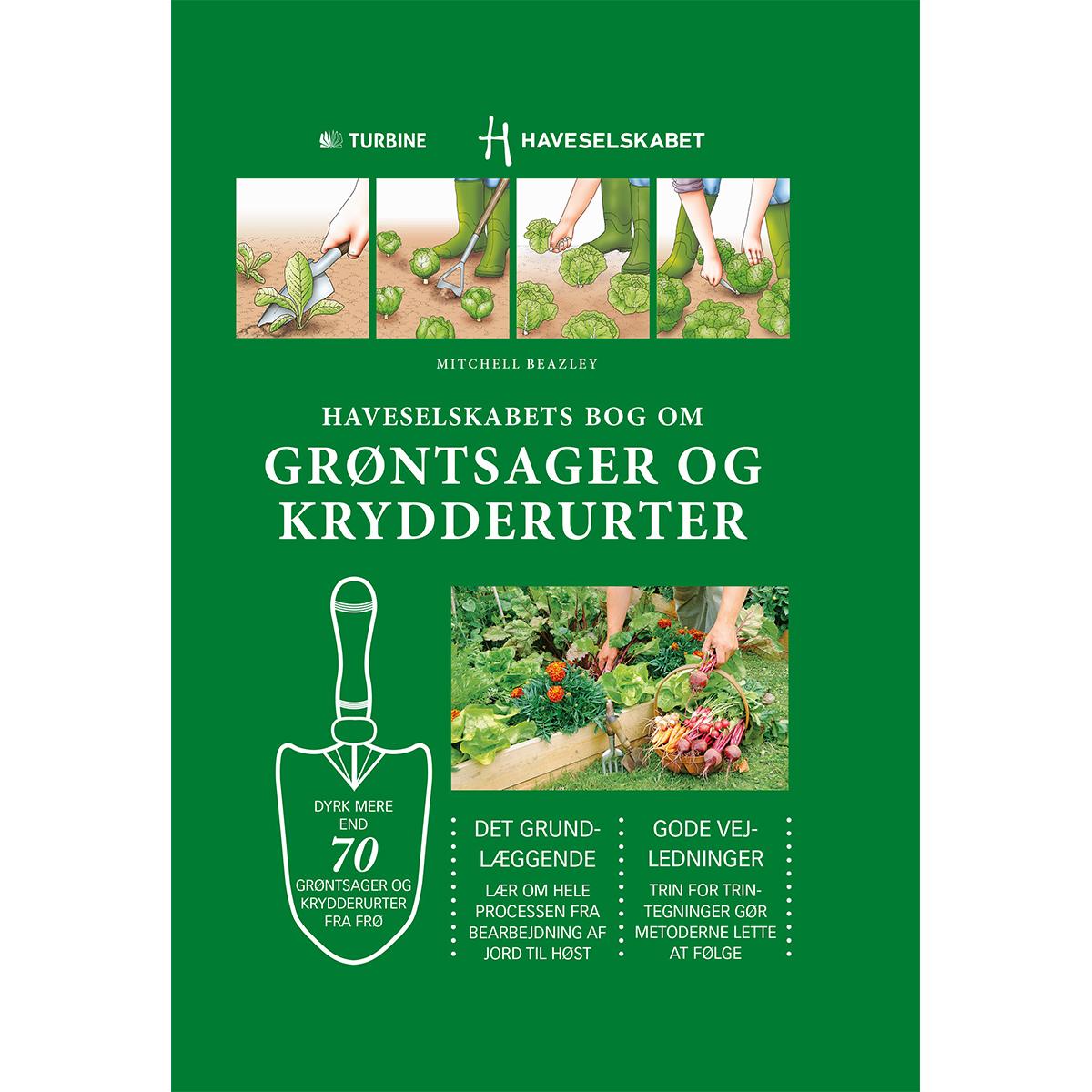Billede af Haveselskabets bog om grøntsager og krydderurter - Hardback
