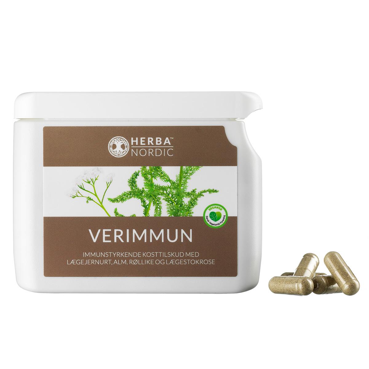 Image of   Herba Nordic Verimmum - 60 stk.