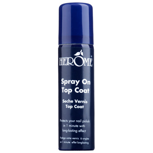 Herôme Spray On Top Coat 75 ml Hurtigtørrende overlak