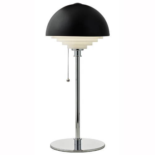 Image of   Herstal bordlampe - Motown - Sort/krom