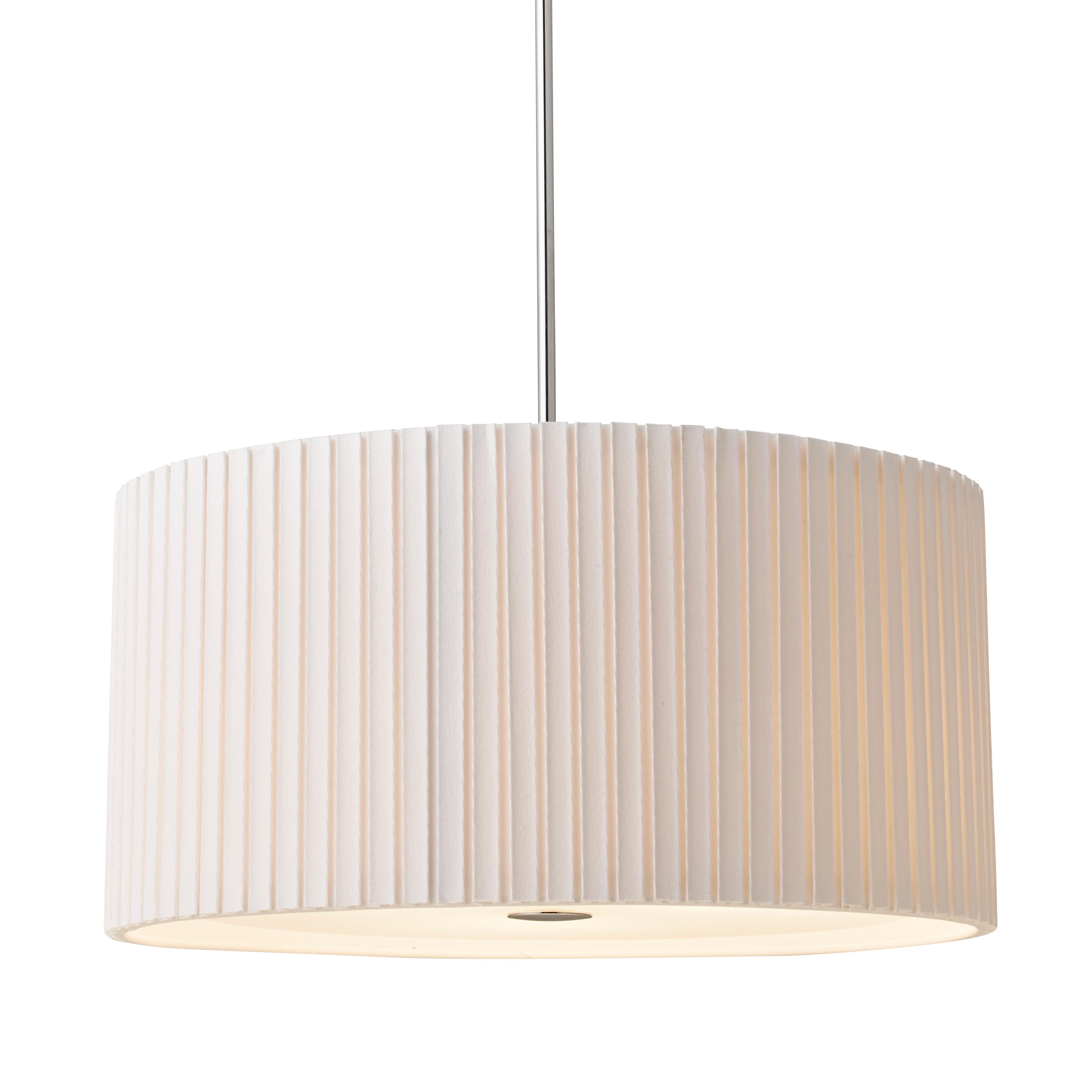 Image of   Herstal pendel - Cole - Pleat White