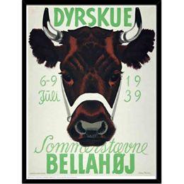 Image of   Hoei Denmark - Dyrskue Bellahøj - Indrammet