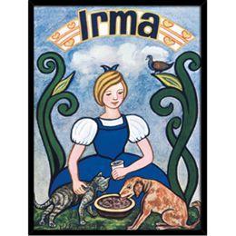 Image of   Hoei Denmark - Irma pigen - Indrammet