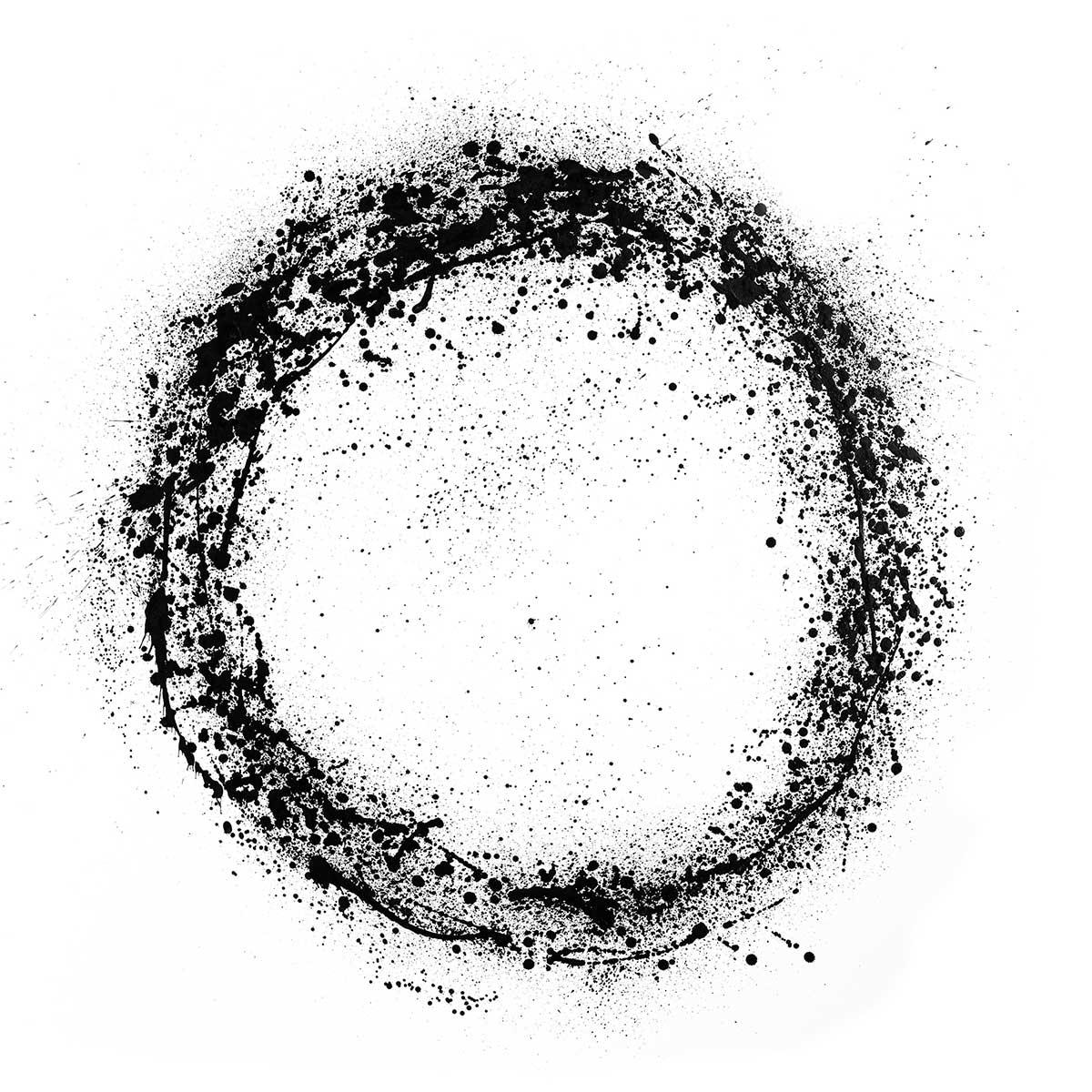 Image of   Hoei Denmark lærredstryk - Circle Splash