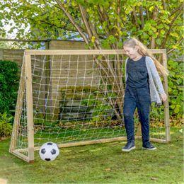 Homegoal fodboldmål - Classic Junior - Natur