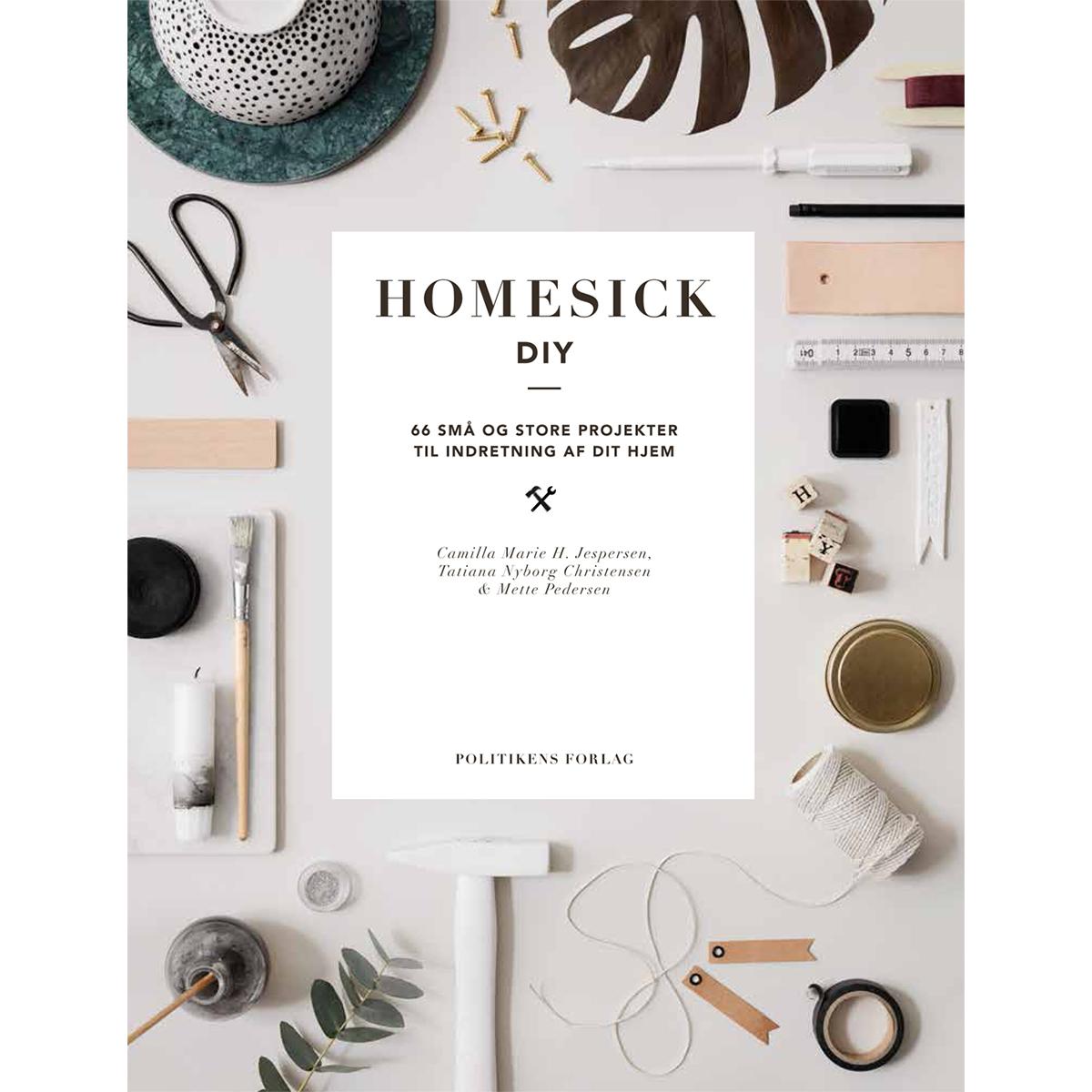 Billede af Homesick DIY - 66 små og store projekter - Indbundet
