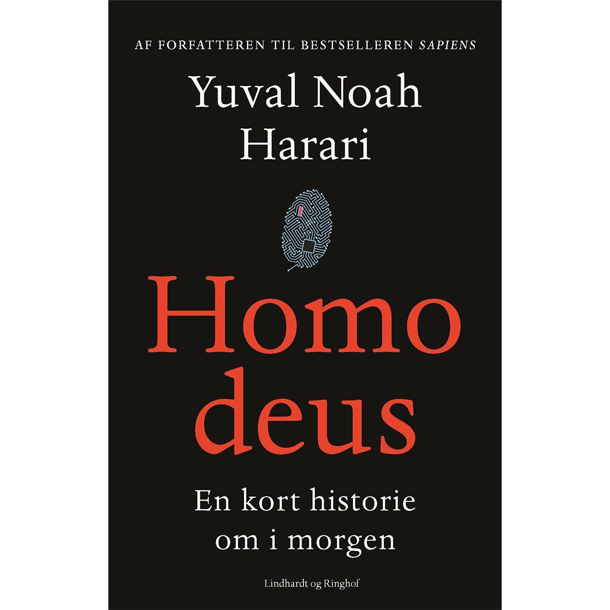 Image of   Homo deus - en kort historie om i morgen - Hardback