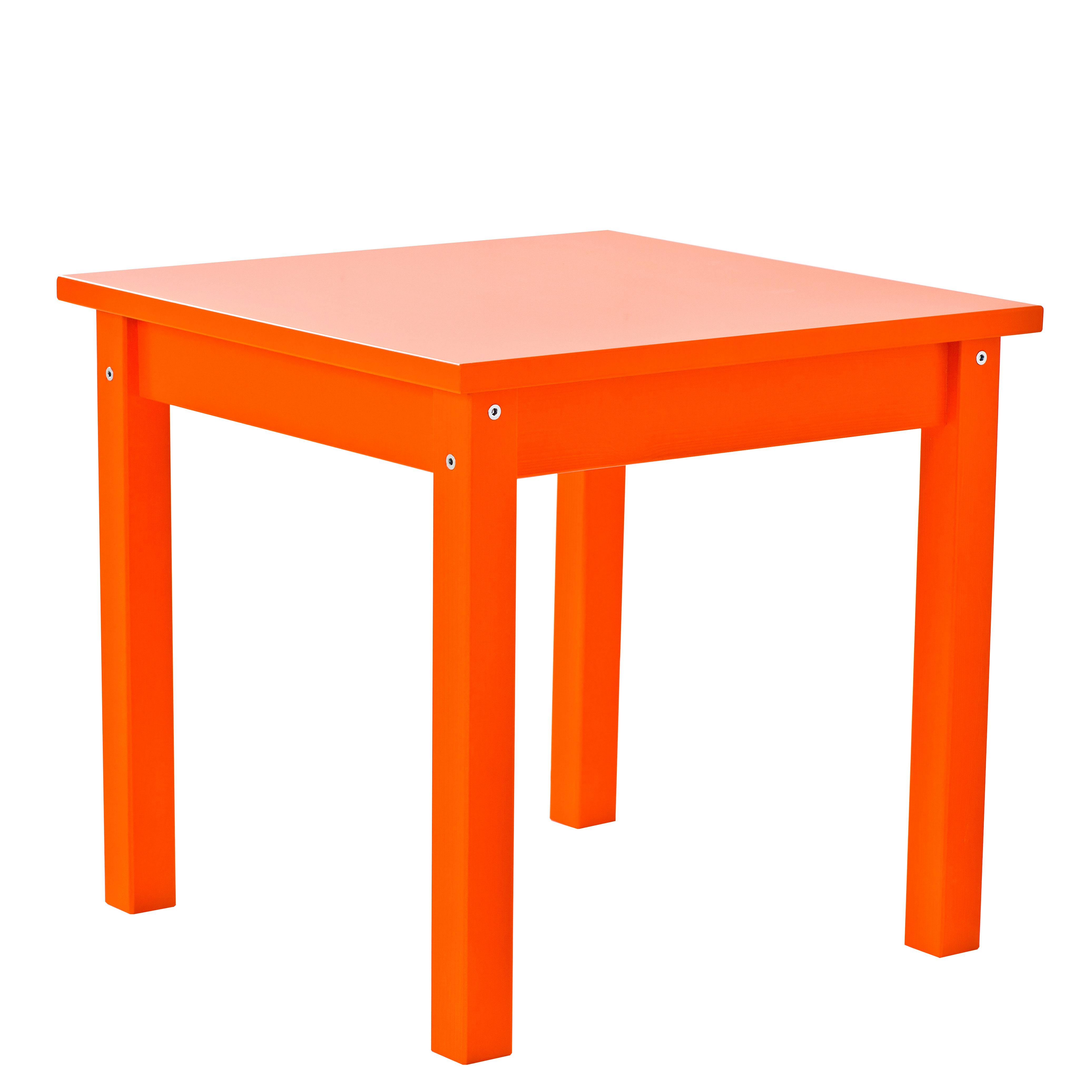 Image of   Hoppekids børnebord - Mads - Orange