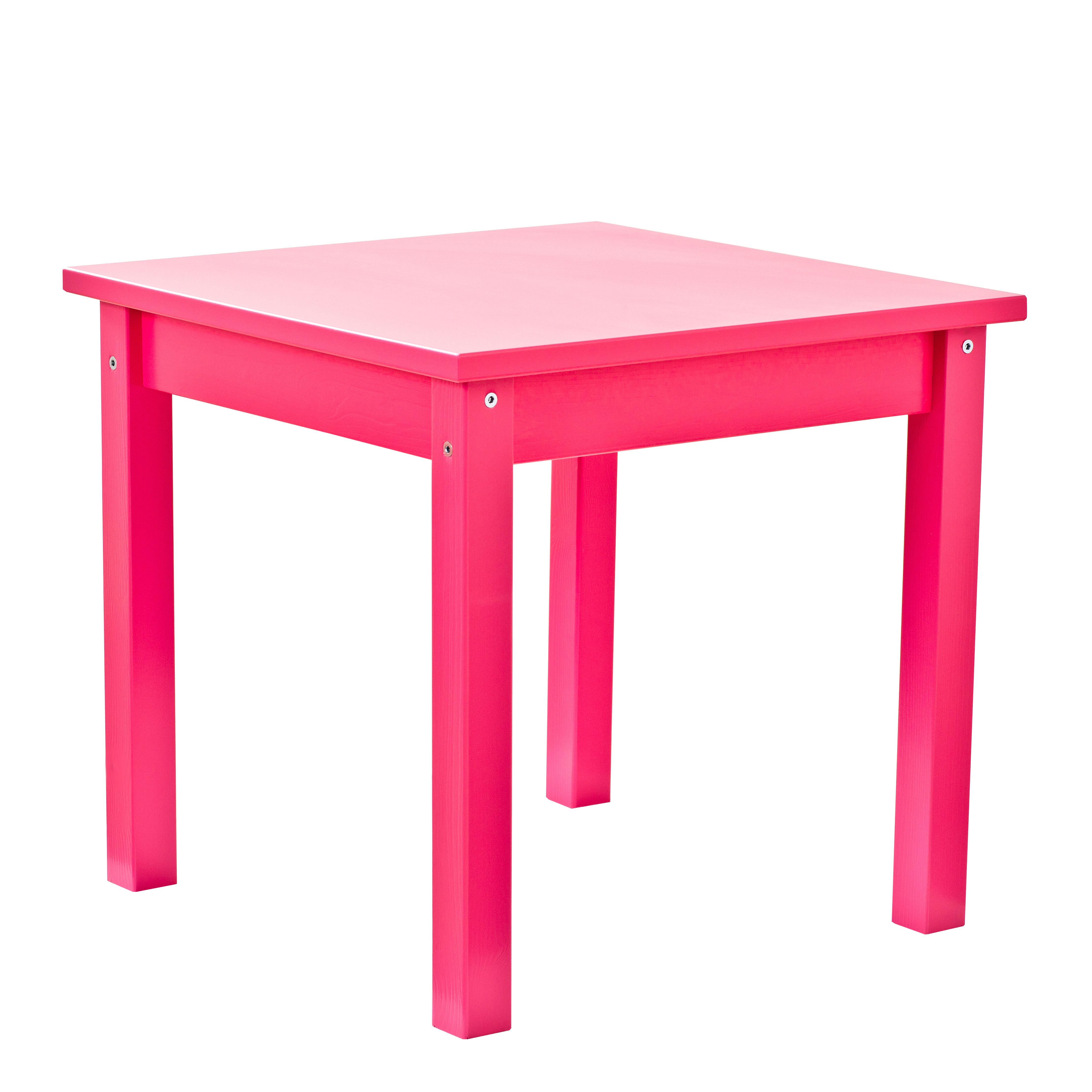 Image of   Hoppekids børnebord - Mads - Pink
