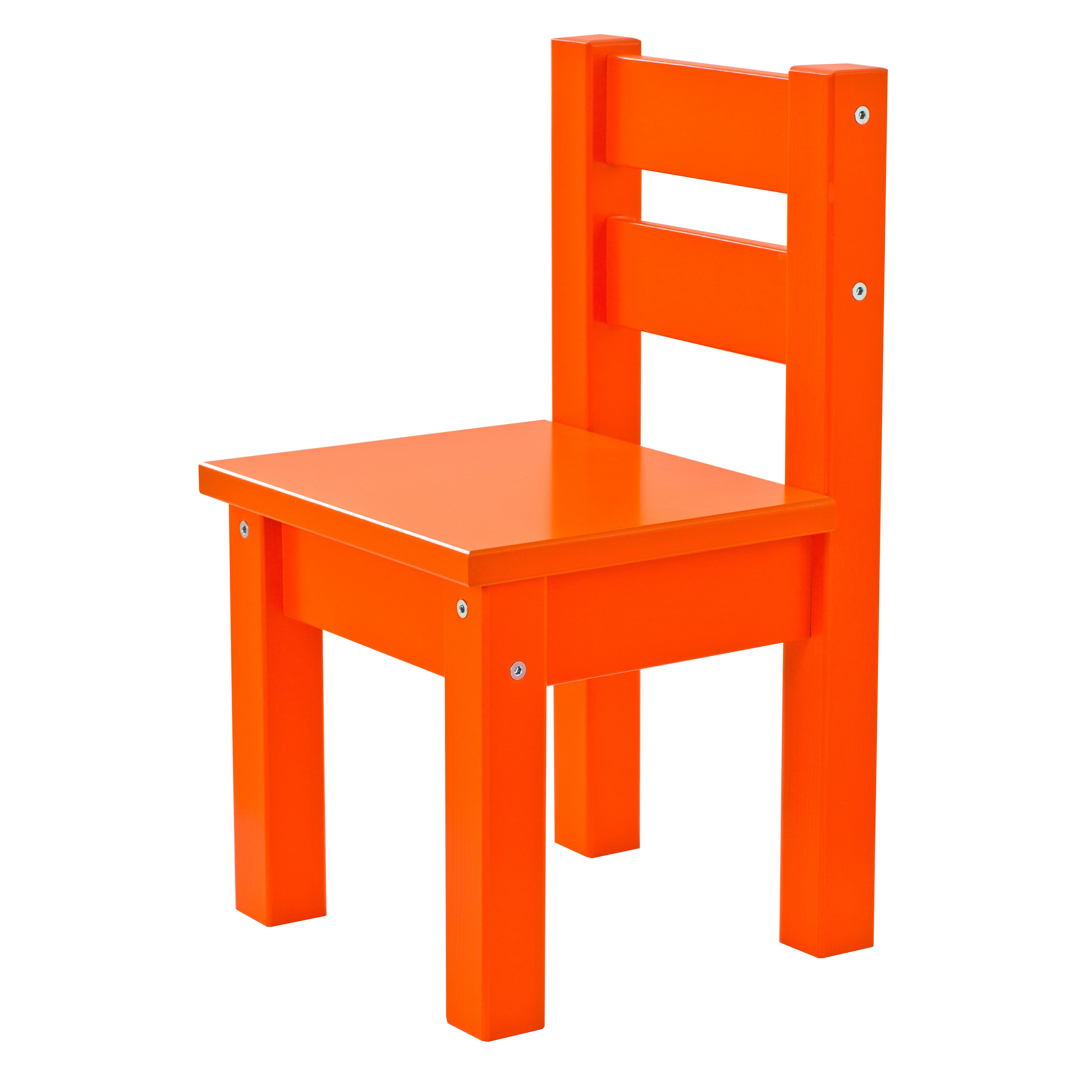 Image of   Hoppekids børnestol - Mads - Orange