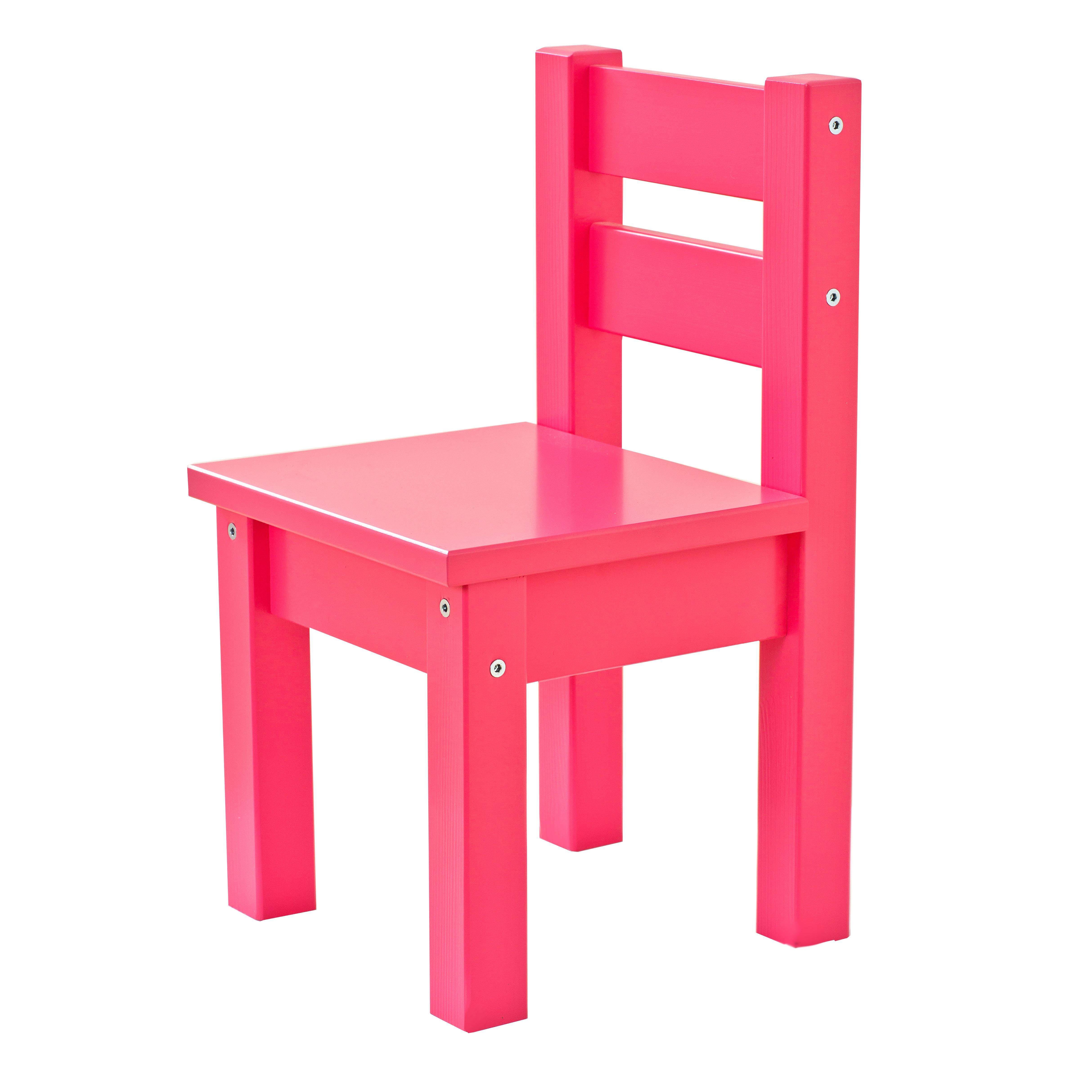 Image of   Hoppekids børnestol - Mads - Pink