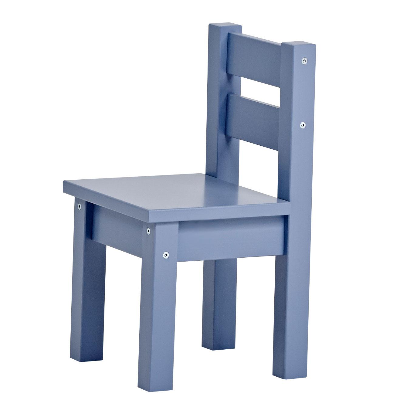 Image of   Hoppekids børnestol - Mads - Støvet blå