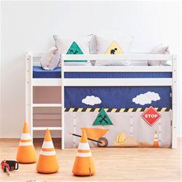 Hoppekids halvhøj juniorseng - Basic - Construction