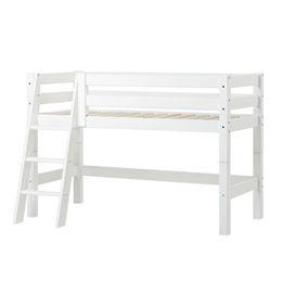 Image of   Hoppekids halvhøj juniorseng - Premium - Hvid