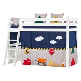 Hoppekids mellemhøj børneseng – Premium – Construction