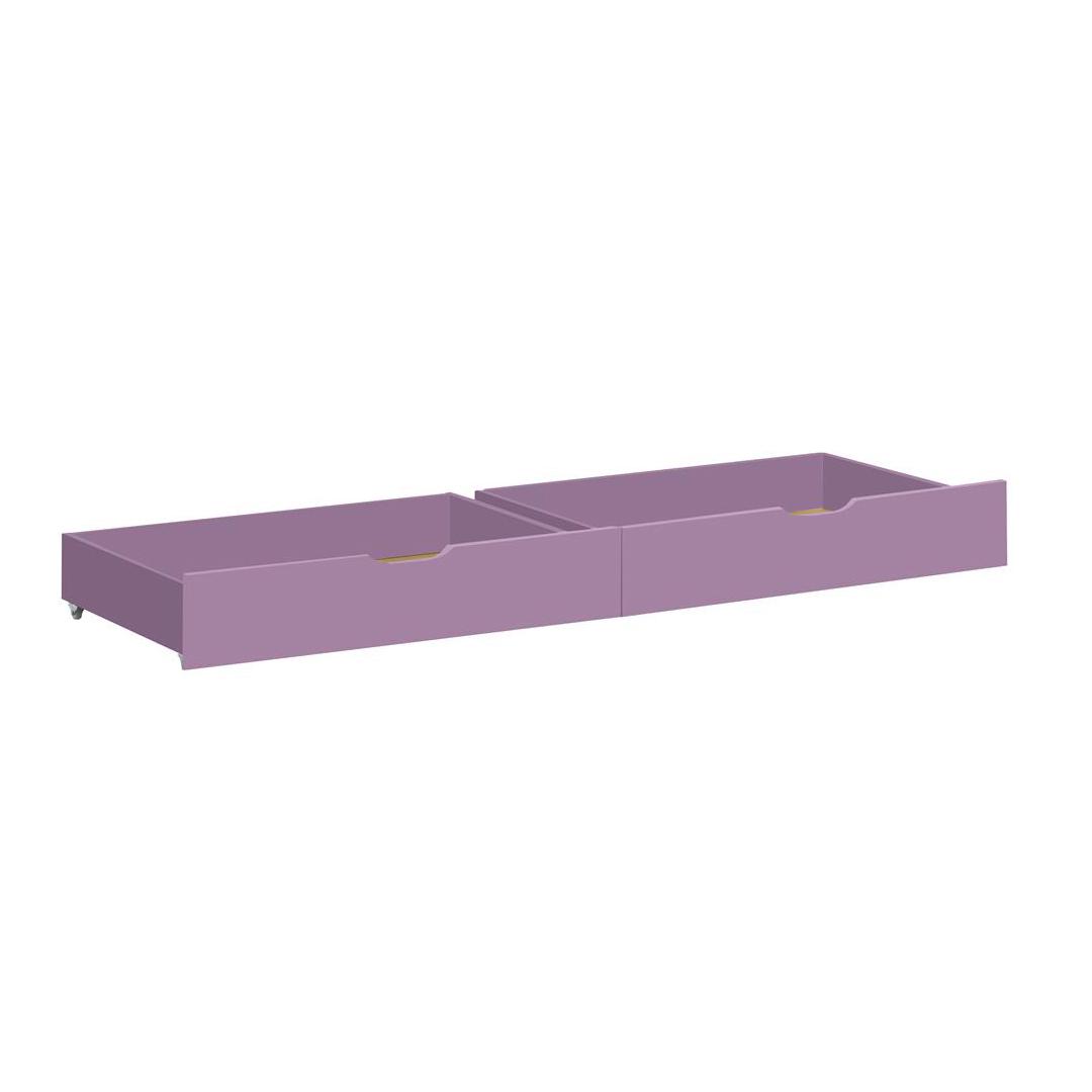 Billede af Hoppekids sengeskuffer på hjul - Ida-Marie - Lavendel