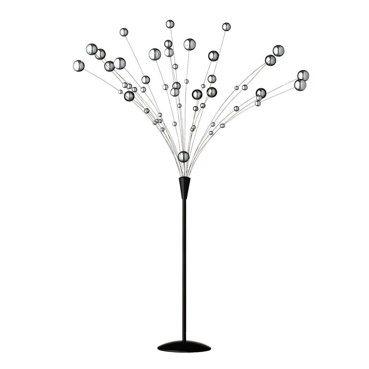 Hoptimist bord-uro - Atomic - Krom