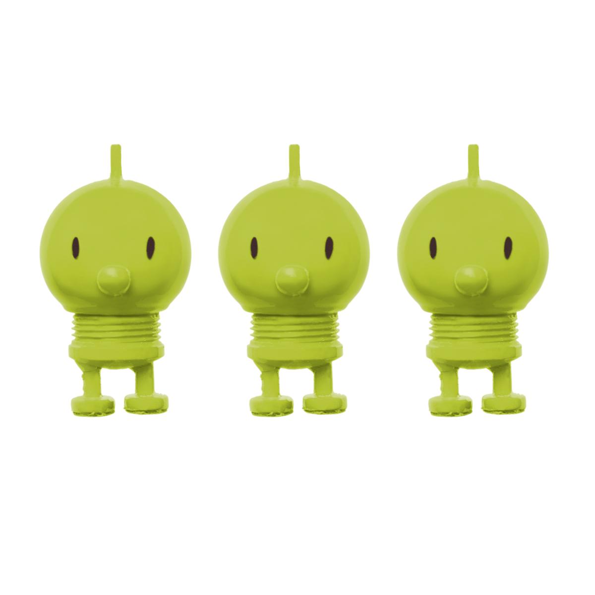 Hoptimist magnet - Lime - 3 stk.