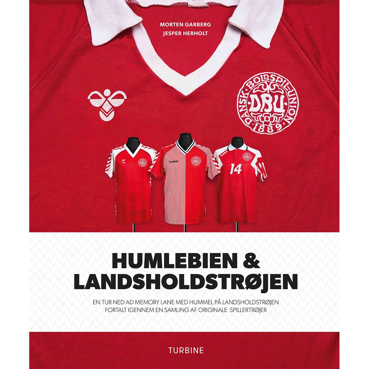 Image of   Humlebien og landsholdstrøjen - Hardback