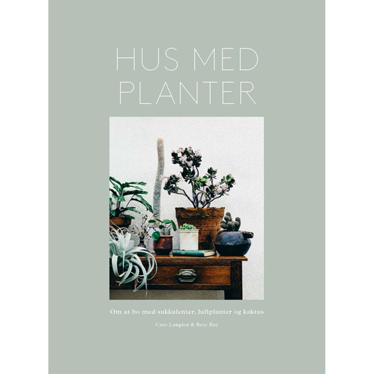 Billede af Hus med planter - Indbundet