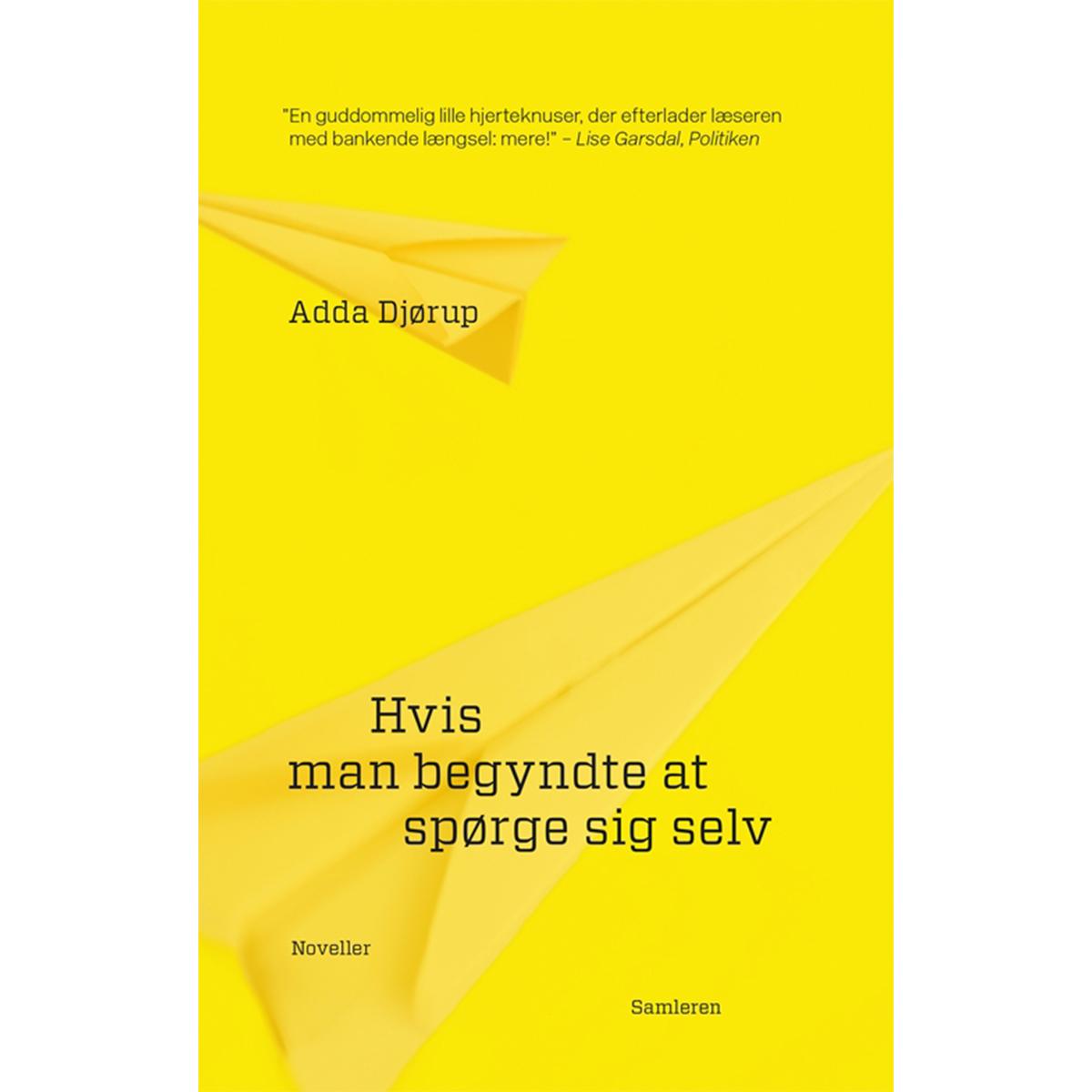 Image of   Hvis man begyndte at spørge sig selv - Hæftet