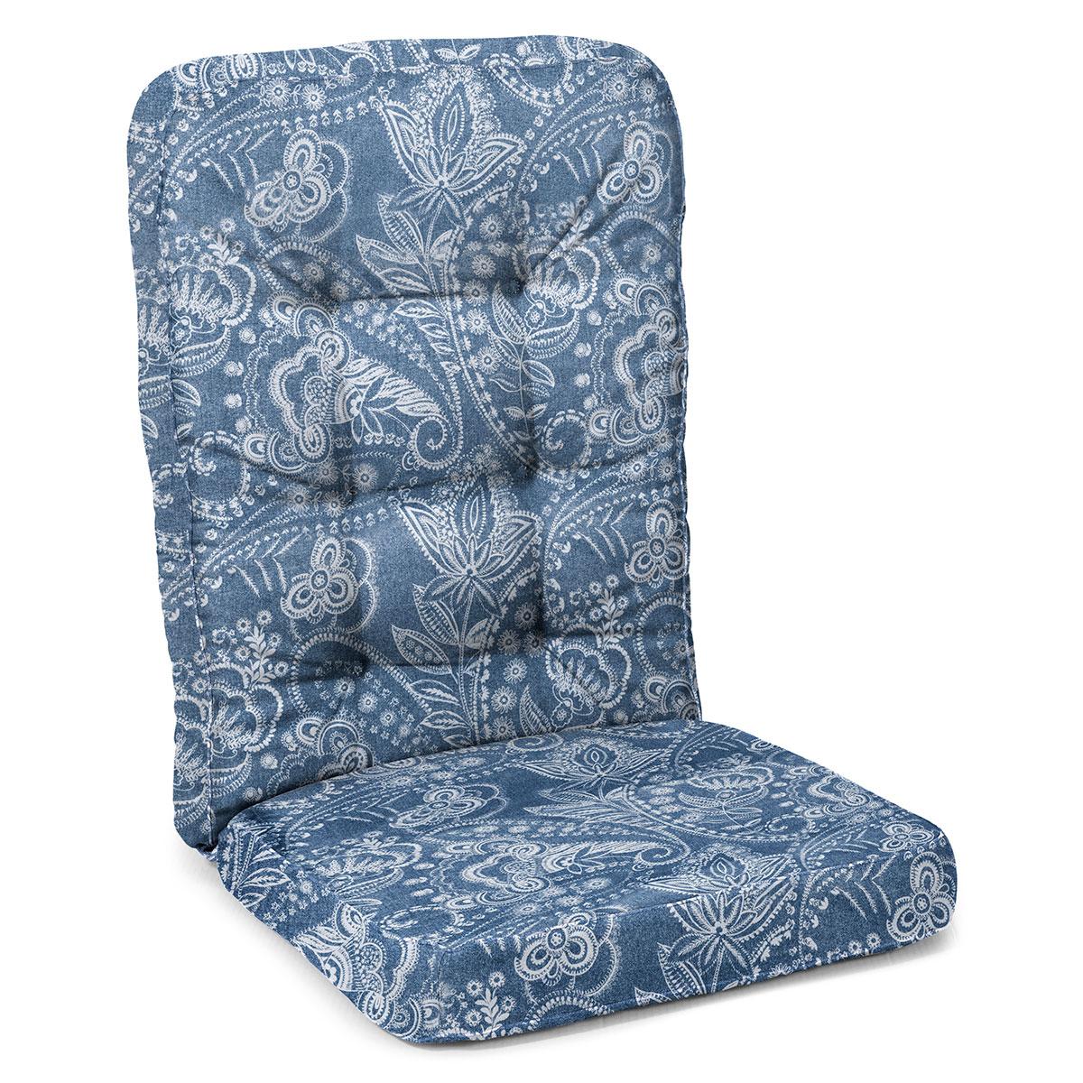 Hynde til Molly hængesofa - Paisley blå