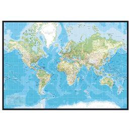 Image of   Incado Pinboard verdenskort