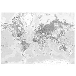 Image of   Incado verdenskort i lyse nuancer