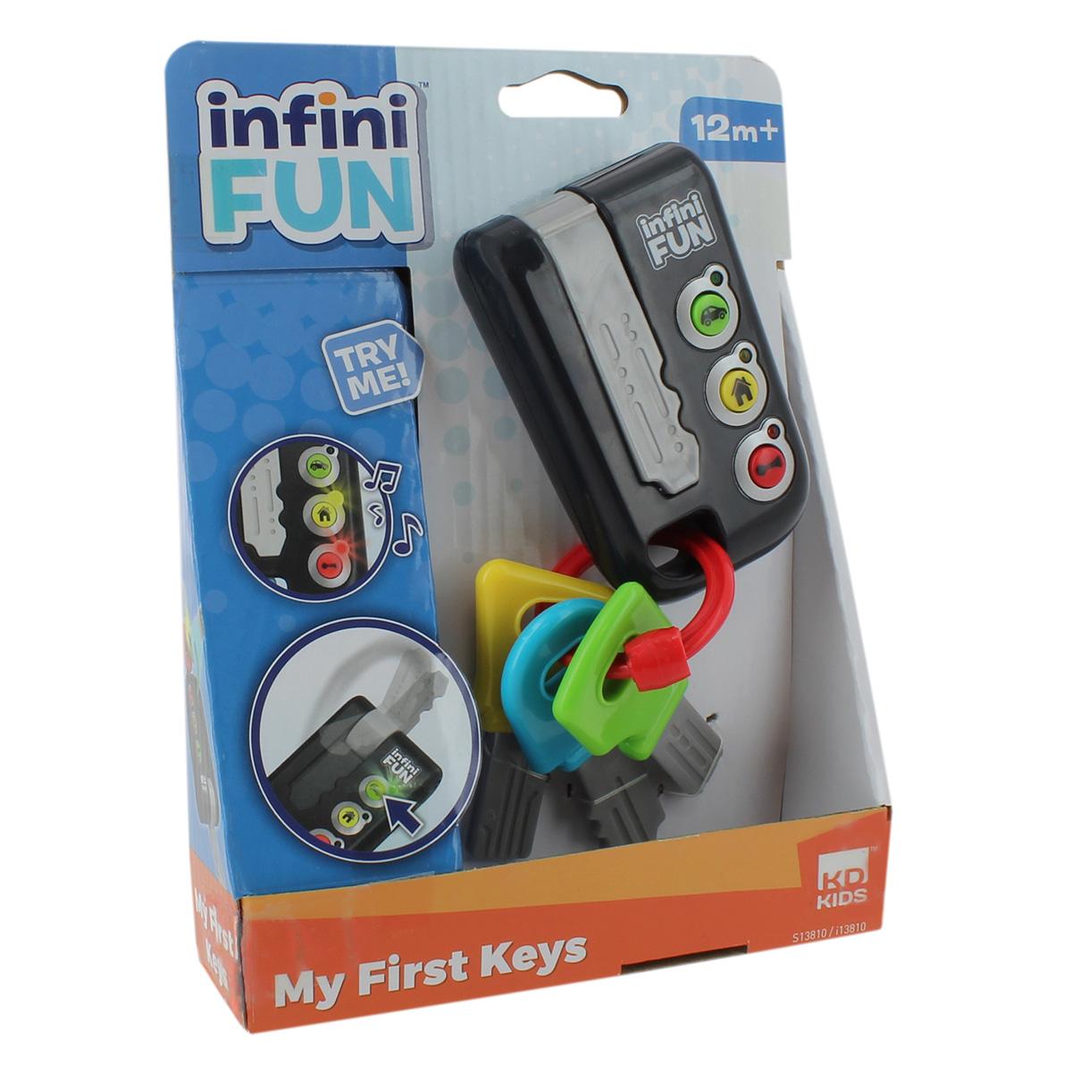 Image of   Infinifun bilnøgler