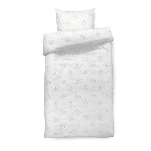 Isabell Kristensen sengetøj - Hvid og lysegrå
