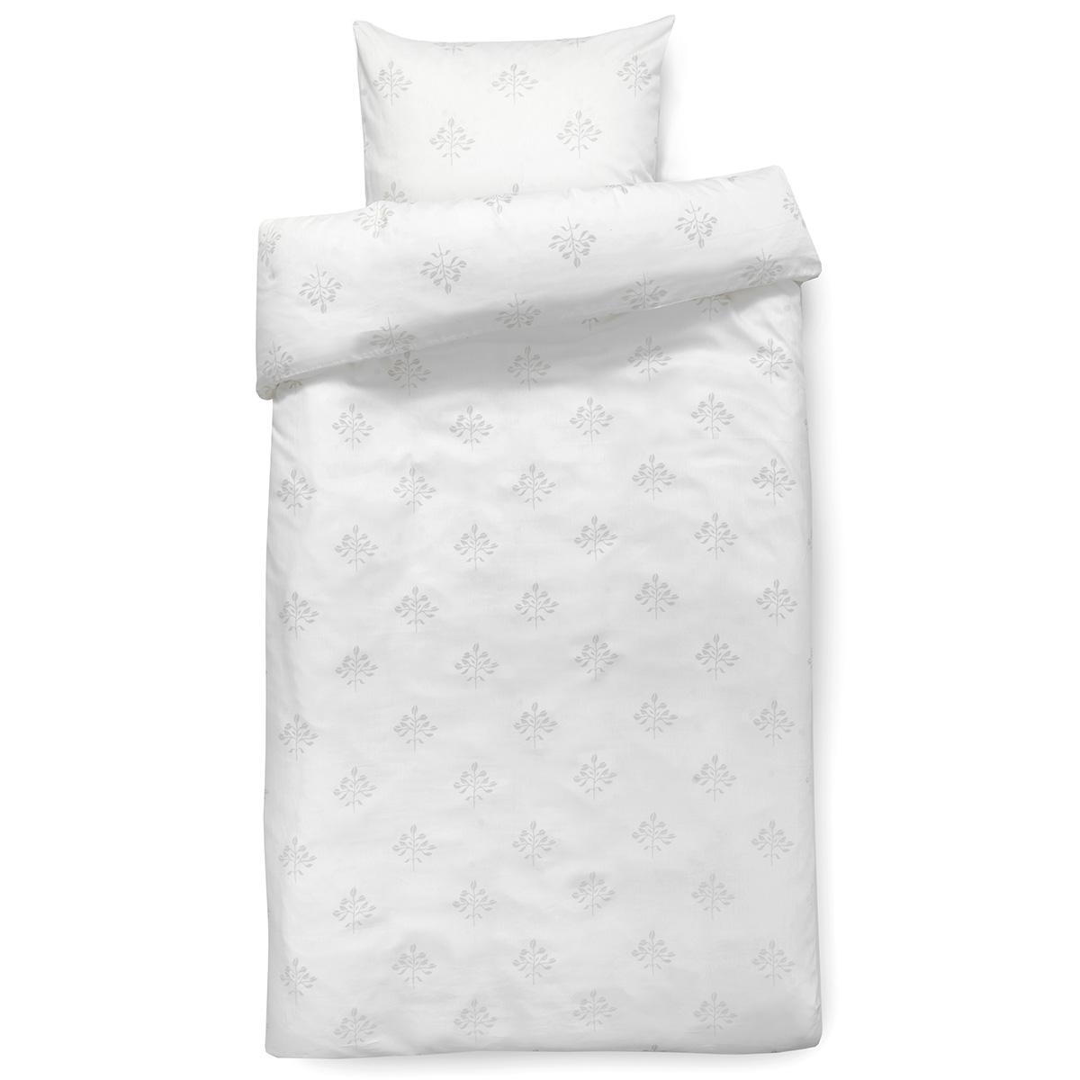 Image of   Isabell Kristensen sengetøj - Hvid og lysegrå