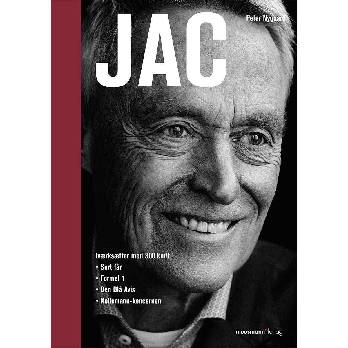 Jac - Iværksætter med 300 km/t - Paperback