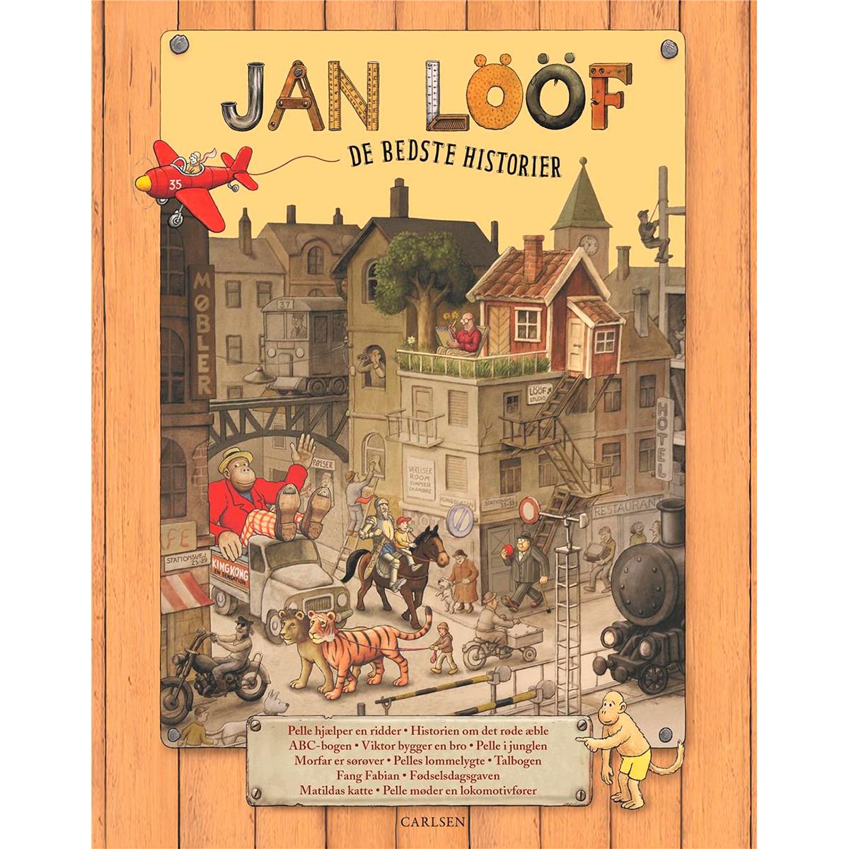 Image of   Jan Lööf - De bedste historier - Indbundet