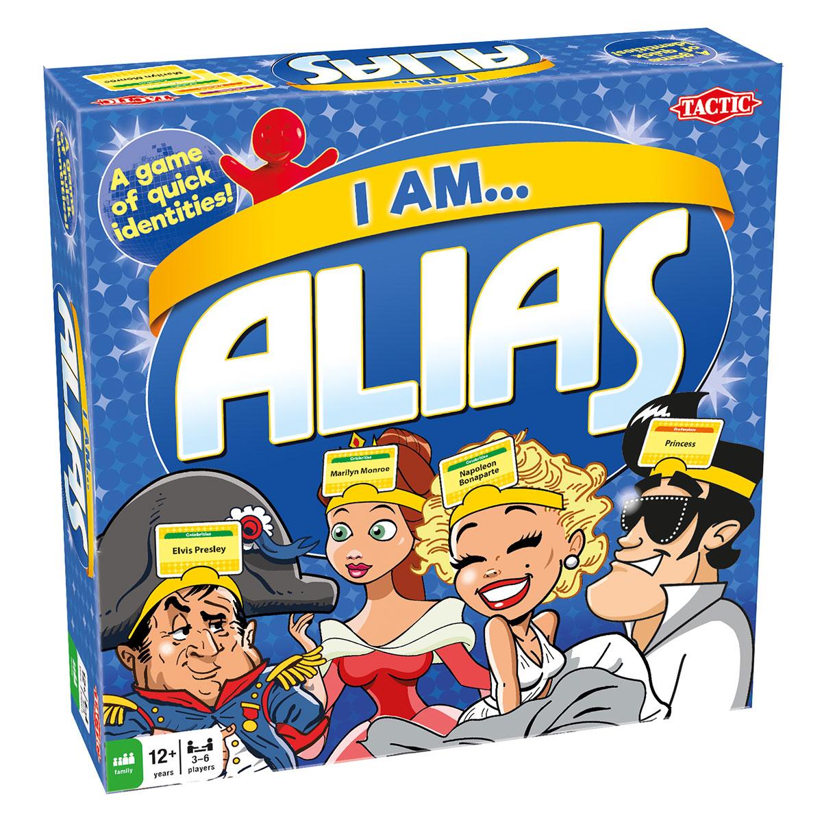 Jeg er... Alias