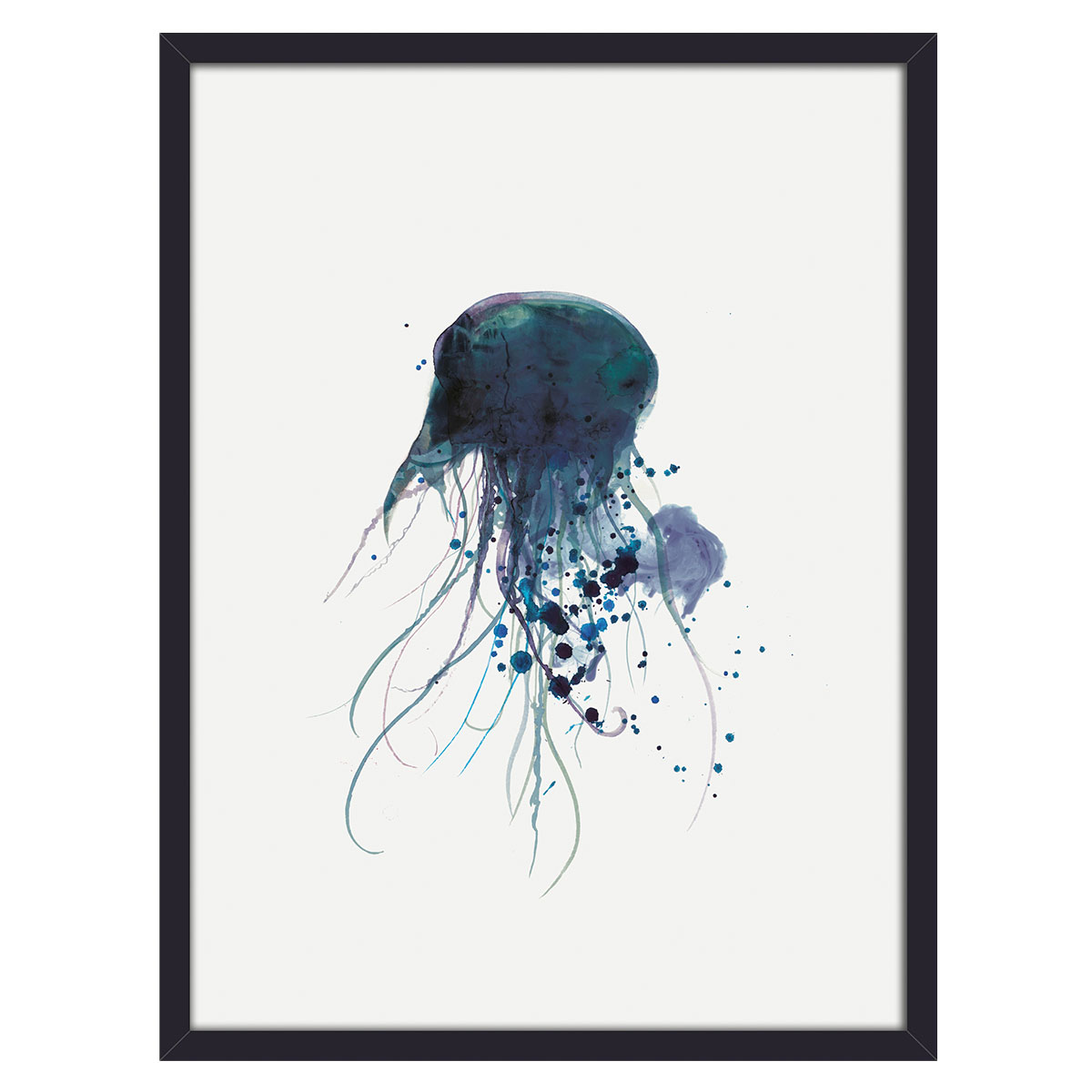 Image of   Jellyfish plakat i ramme