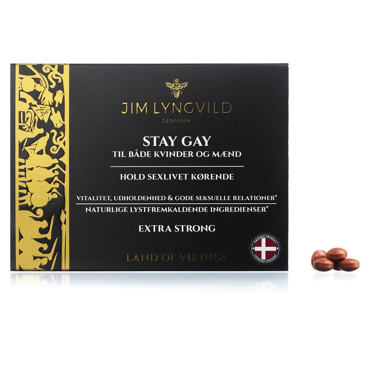 Image of   Jim Lyngvild Stay Gay - 60 stk.