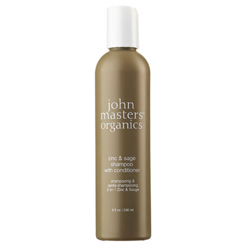 Image of   John Masters Zinc & Sage Shampoo med conditioner 236 ml