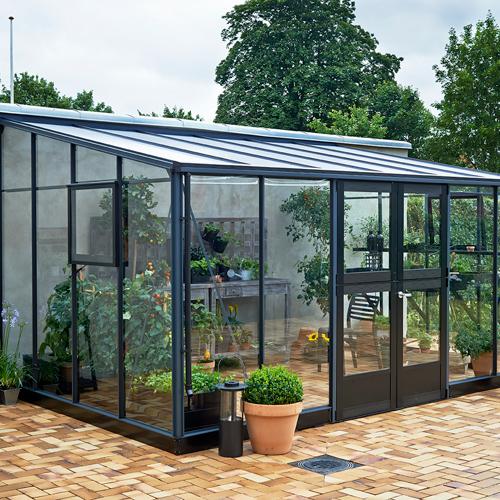 Juliana drivhus - Veranda - 12,9 m²