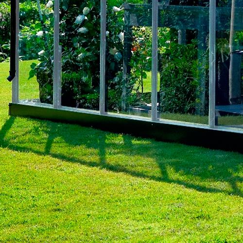 Image of   Juliana drivhussokkel til Premium 10,9 m2 drivhus