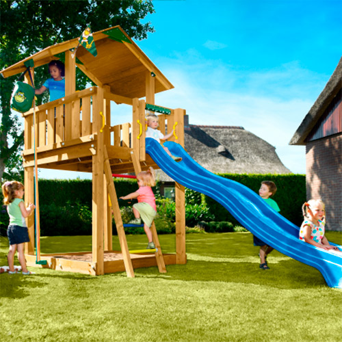 Image of   Jungle Gym Chalet legetårn