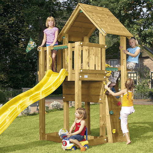 Image of   Jungle Gym Cubby legetårn