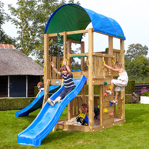Image of   Jungle Gym Farm legetårn