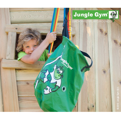 Image of   Jungle Gym hejsesystem med spand