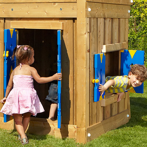 Image of   Jungle Gym Playhouse Module M