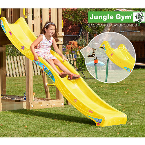 Image of   Jungle Gym rutsjebane - 220 cm - Gul