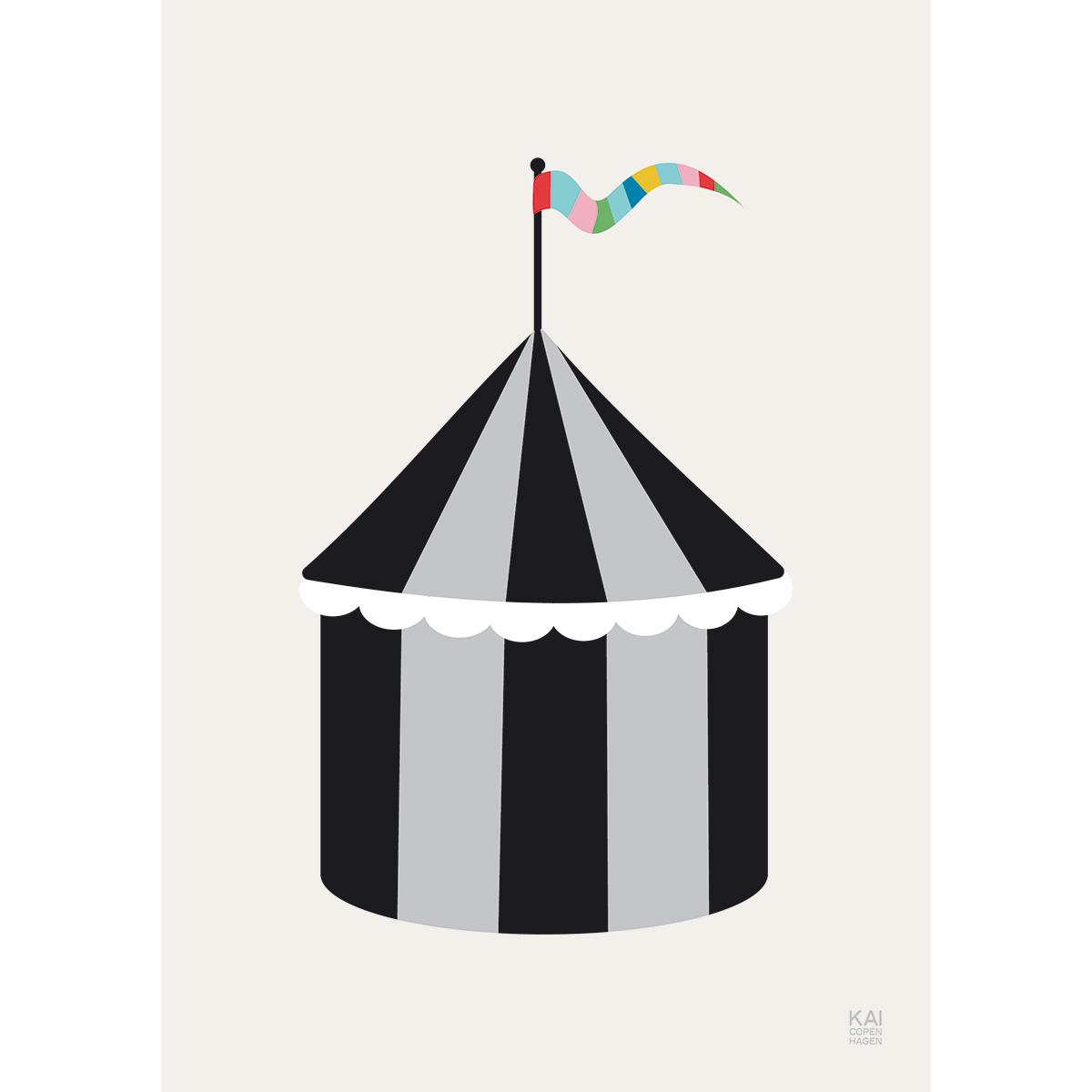 Image of   Kai Copenhagen plakat - Cirkus