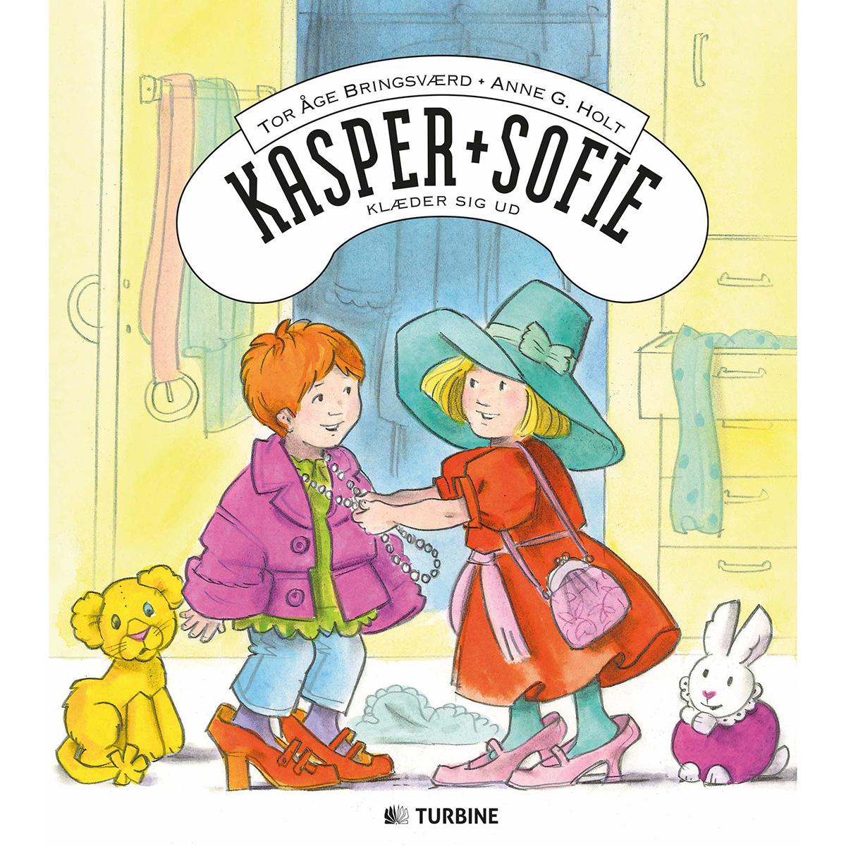 Image of   Kasper og Sofie klæder sig ud - Hardback