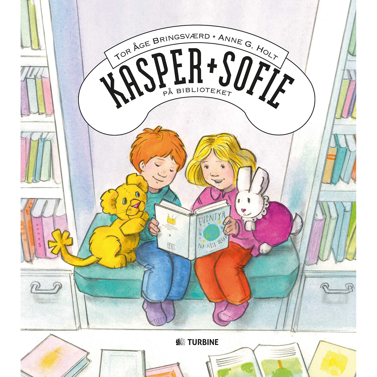 Image of   Kasper og Sofie på biblioteket - Hardback